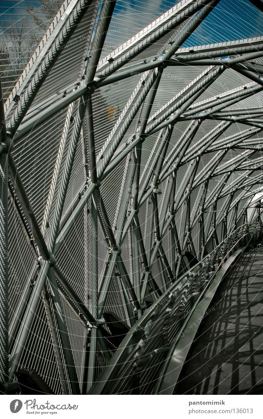 bridge Graz Tunnel Bridge Detail grid path spiral construction shell