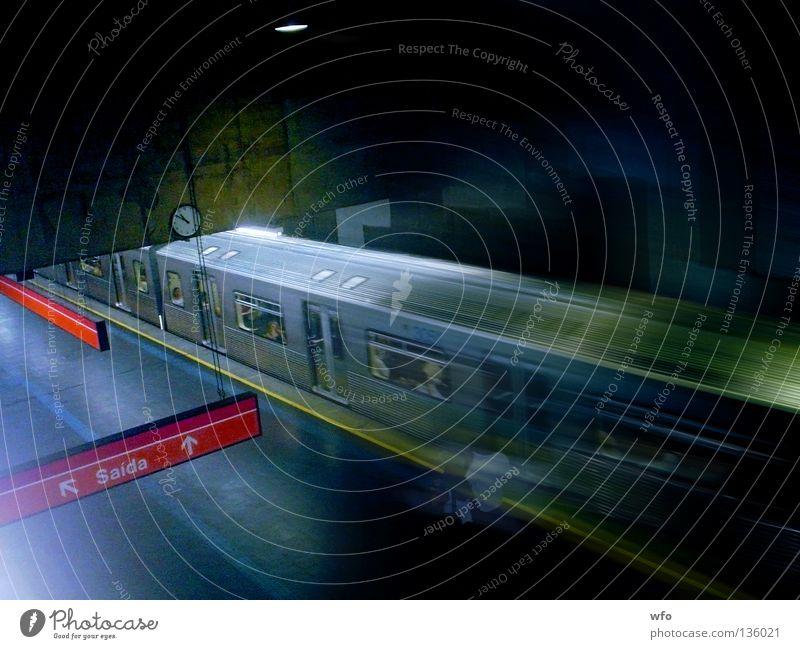 Human being Transport Speed Underground Brazil São Paulo