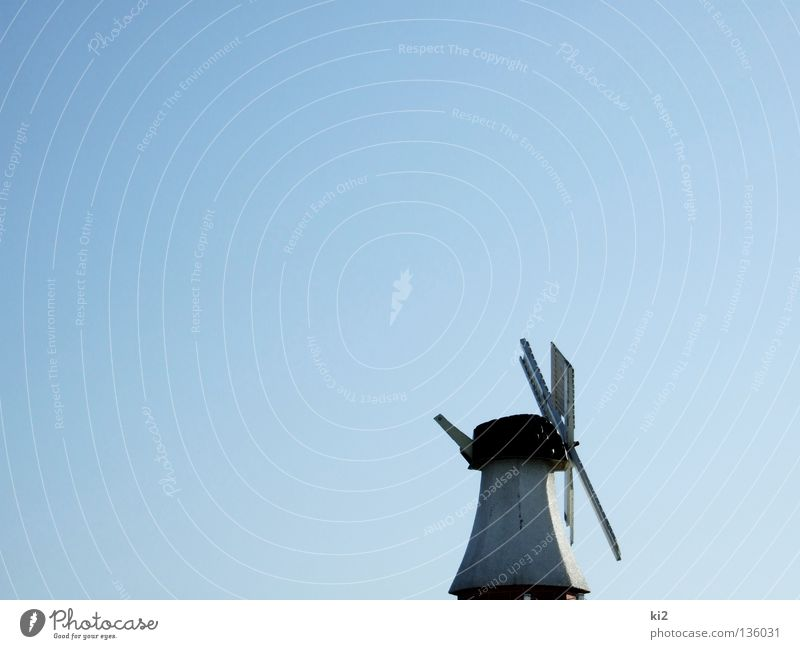 Sky Blue Air Wind Industry Energy industry New Wing Historic Mill Windmill