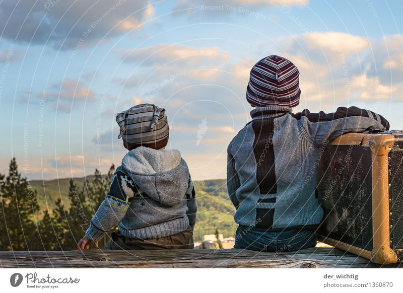 Wanderlust #3 Vacation & Travel Trip Far-off places Summer Mountain Human being Toddler Boy (child) Brothers and sisters Family & Relations Infancy 2