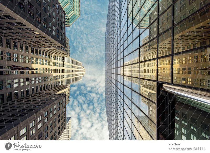 City Freedom Facade City life High-rise Esthetic USA Skyline Landmark Americas Manhattan New York City Chrysler Building