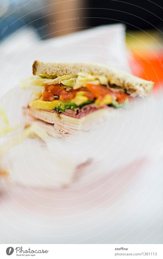 Eating Food Nutrition USA Lunch New York City Fast food Sandwich