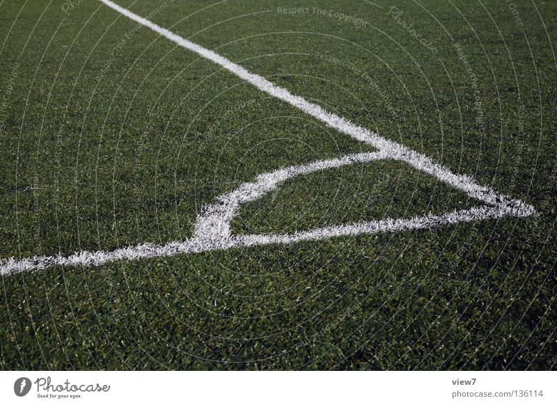 corner Ball sports Playing Bump Progress World Cup Referee Linesman Fresh Green Structures and shapes Meadow Playing field Lawn Perfect Attacker Penalty kick