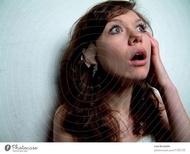 Calm Ear Cloth Listening Amazed Adhesive plaster Curly Illness