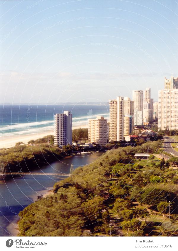 Beach House (Residential Structure) Sand Coast High-rise Australia