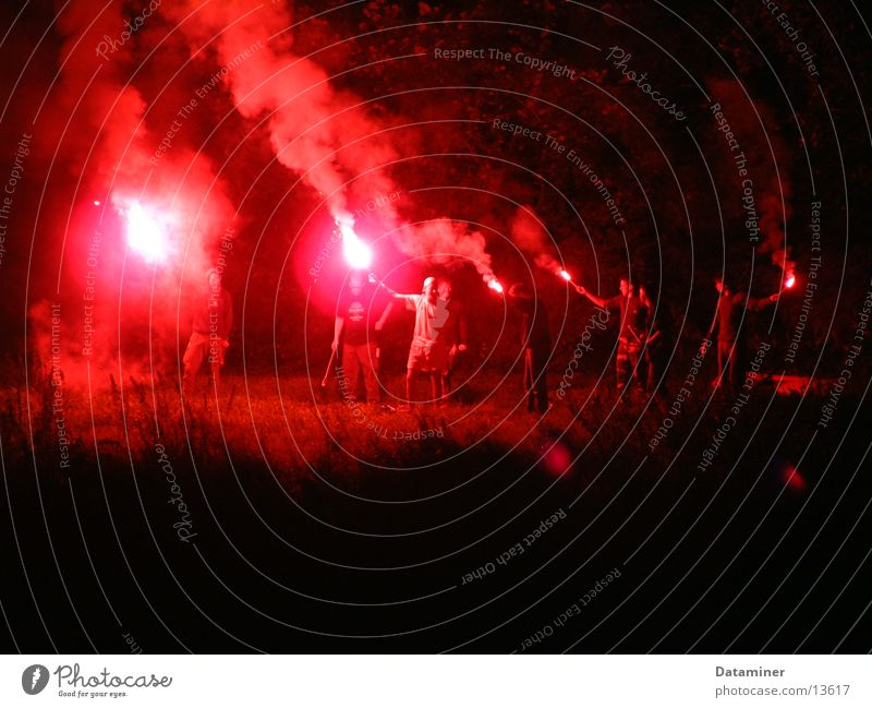 Red Party Group Bright Blaze River Shows Flame Disaster Flashy Robbery India Tent camp Bengal