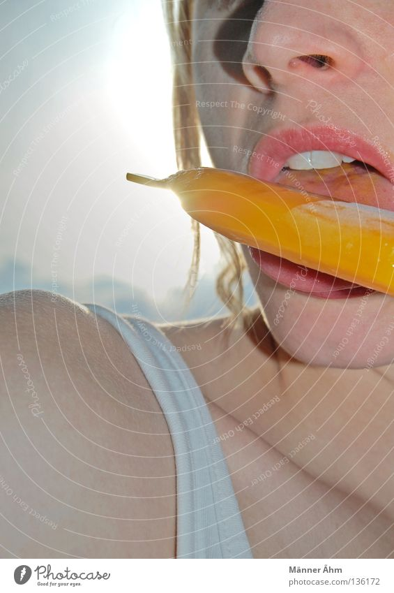 Colour Adults Cold Eating Food Nutrition Ice cream Sweet Individual Lips To enjoy Frozen Refreshment Candy Delicious Section of image