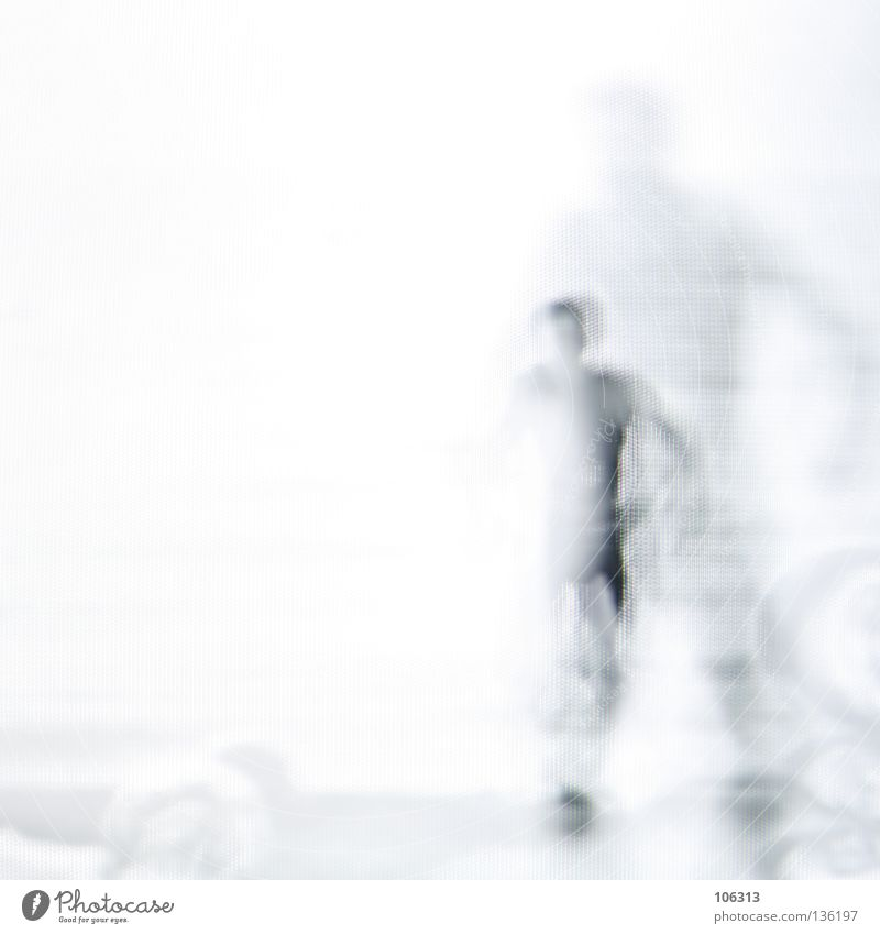 [PRGB.01] MIRROR MAN Man Multiple 2 Duplicate Black White Reduce Project Going Loneliness Calm Walking Threat Silhouette Grow hazy Strange Really Gesture