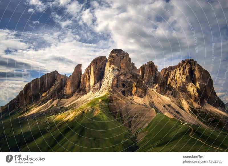 Dolomites VI Vacation & Travel Tourism Trip Adventure Freedom Summer Summer vacation Mountain Hiking Observe Old Esthetic Exceptional Sharp-edged Gigantic