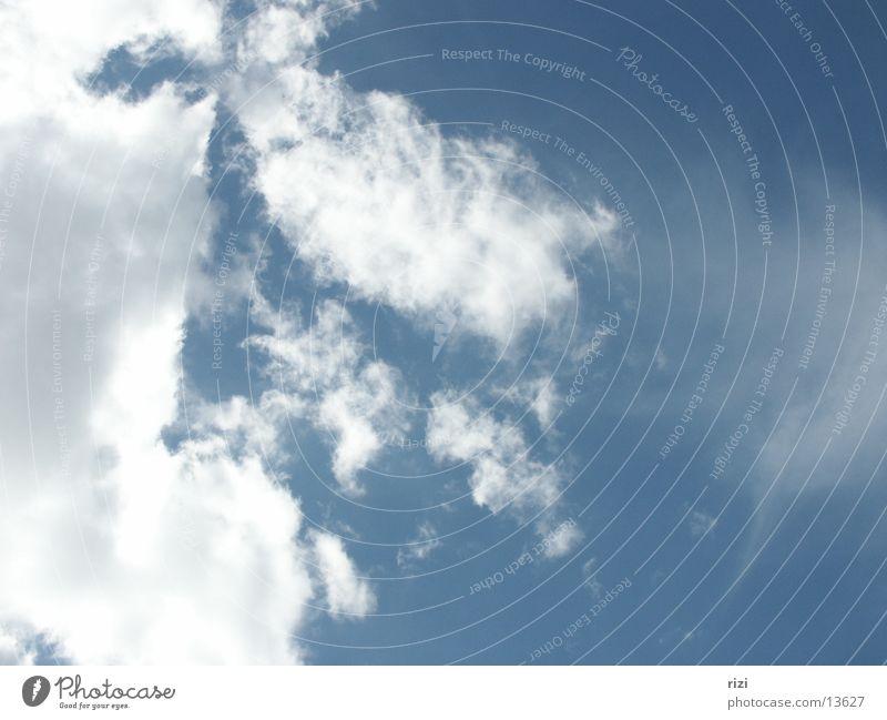 Clouds Graffiti Beautiful weather Blue sky