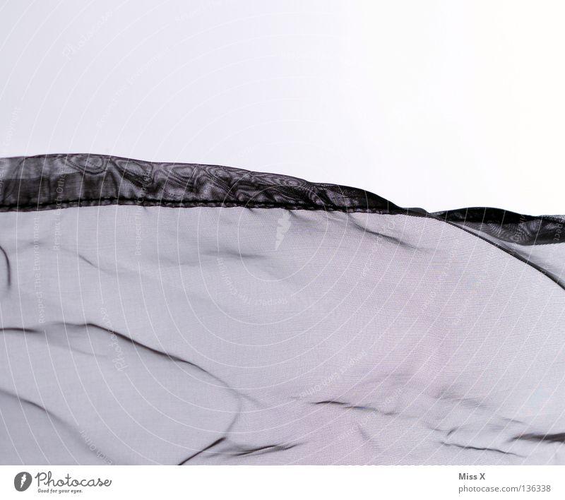 White Cloth Wrinkles Drape Transparent Bedroom Iron Silk Woven Moiré effect