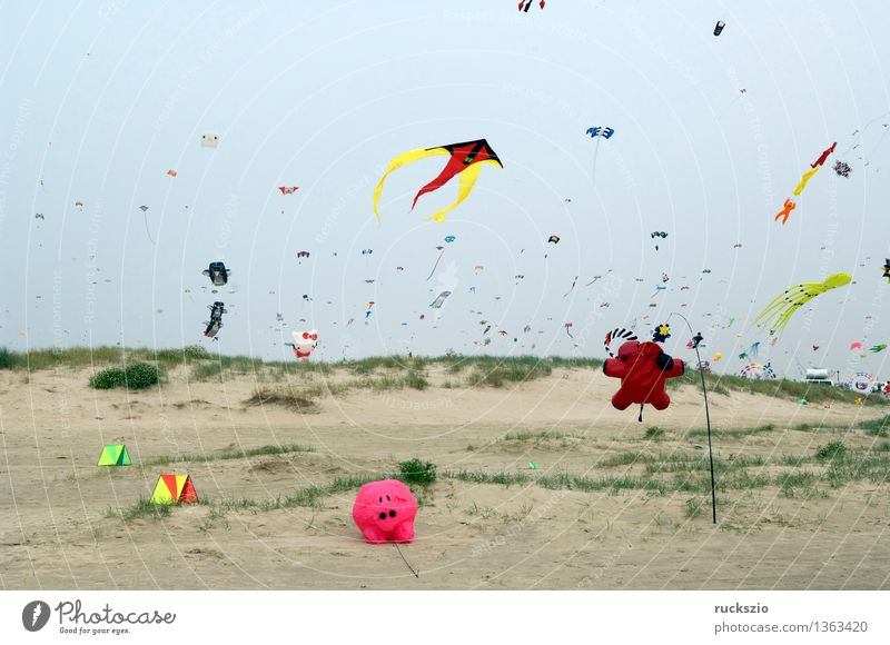 Vacation & Travel Landscape Beach Coast Playing Air Leisure and hobbies Wind Creativity Island Europe String Toys Pants Cloudless sky Dynamics