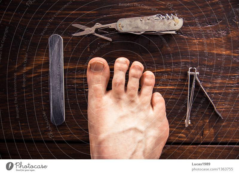 pedicure Beautiful Personal hygiene Body Skin Pedicure Cosmetics Nail polish Young man Youth (Young adults) Man Adults Feet Toes Toenail 1 Human being