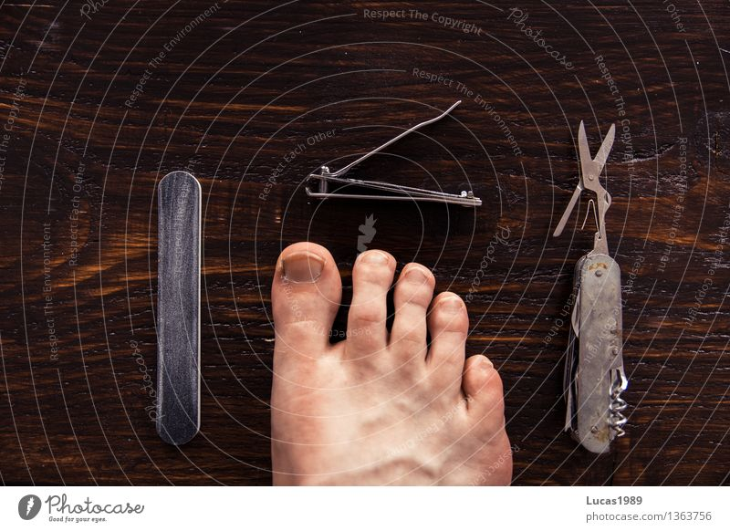 pedicure Beautiful Personal hygiene Body Manicure Pedicure Cosmetics Nail scissors nail clippers file Switchblade Scissors Skin Feet Toes Toenail Wooden board