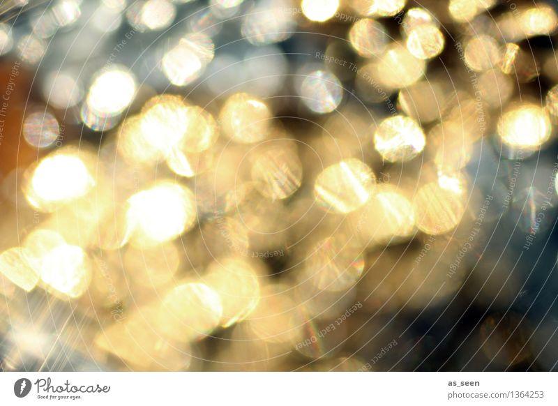 Nature Christmas & Advent Water Sun Warmth Life Autumn Lifestyle Feasts & Celebrations Bright Metal Design Glittering Illuminate Gold Esthetic