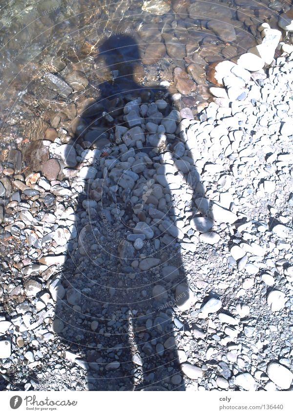 Human being Water Joy Stone Leisure and hobbies River Self portrait Unwavering