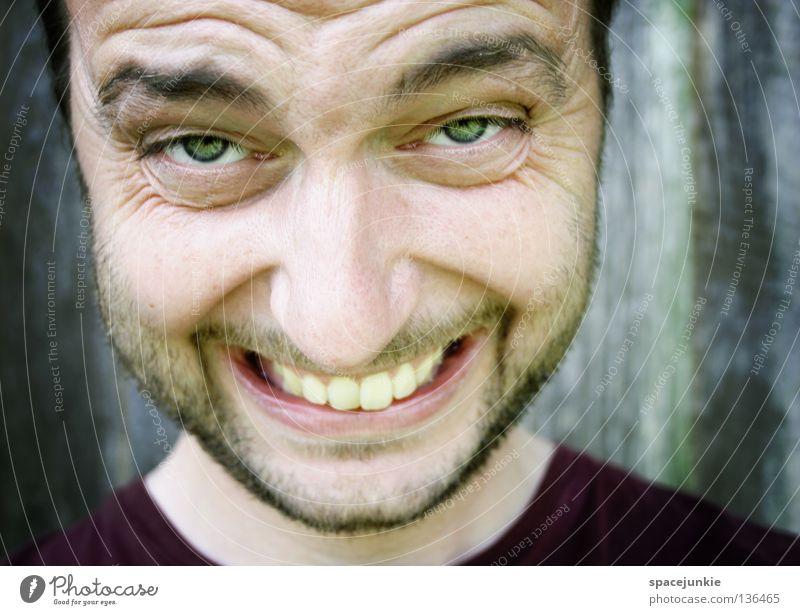Man Nature Summer Joy Face Laughter Funny Mouth Teeth Lips Facial hair Whimsical Joie de vivre (Vitality) Fragrance Grinning Joke
