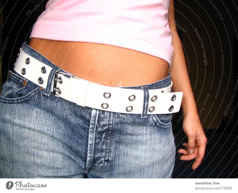 Woman Feminine Posture Stomach Hip
