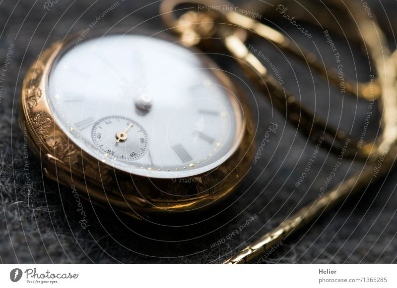 White Black Yellow Gray Time Metal Clock Decoration Gold Glass Things Transience Retro Clock face Digits and numbers