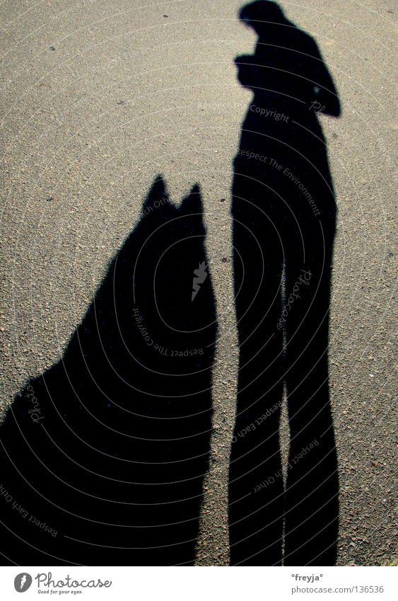 my faithful companion Dog Black Loyalty Science & Research Shadow Street noir freki