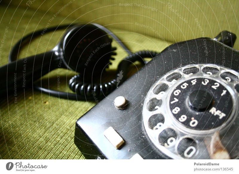 Far-off places Wait Telephone Retro Still Life Surprise To call someone (telephone) Impatience