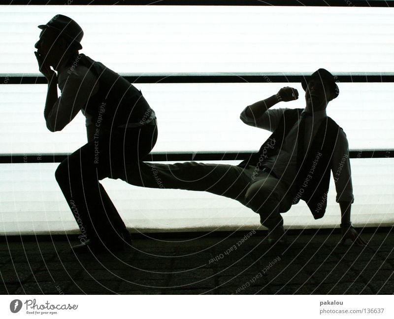 reproduction Shadow play Abstract Funny Couple 2 Man Birth Frightening Support Together Cloning Crazy Dark Hideous Light Silhouette Exceptional Side Joy