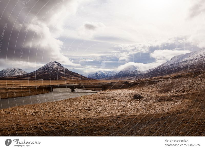 Vacation & Travel Landscape Far-off places Mountain Adventure Iceland