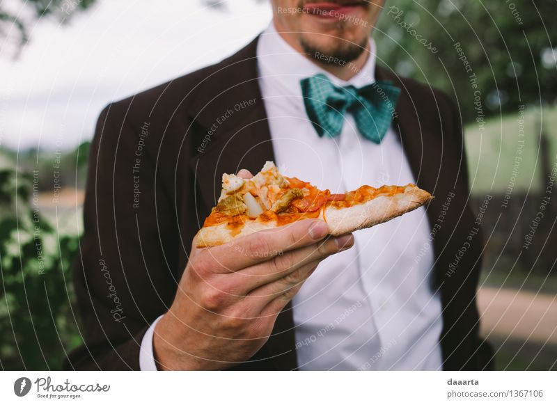 party pizza Food Dough Baked goods Bread Pizza Nutrition Eating Lunch Lifestyle Elegant Style Joy Harmonious Relaxation Leisure and hobbies Playing Trip