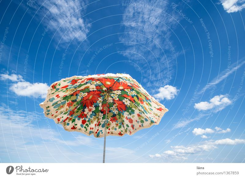 Sky Vacation & Travel Summer Relaxation Beach Tourism Ease Umbrellas & Shades Sunshade Weather protection