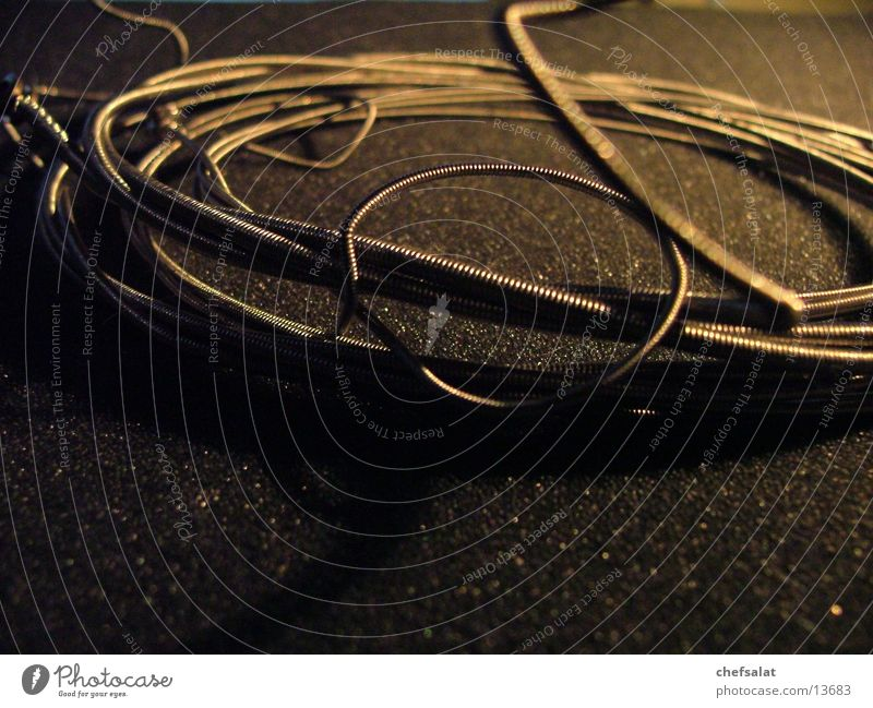 strings Musical instrument string Foam rubber Dark Wire Steel Macro (Extreme close-up) Close-up Double bass Metal