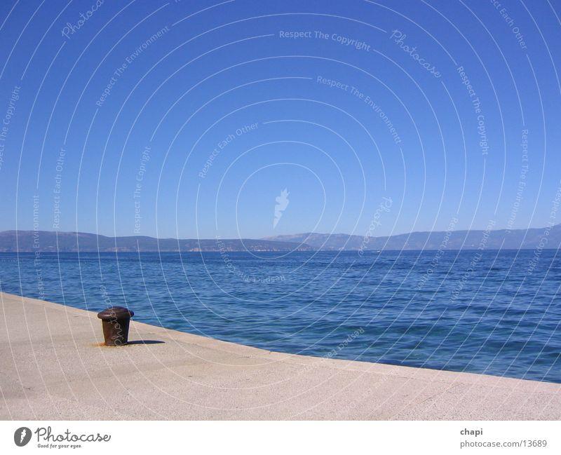 The sea Ocean Vacation & Travel croation Water Sky Sun