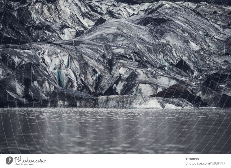 Nature Water Landscape Winter Cold Mountain Gray Lake Ice Dirty Climate Elements Frost River Fat Iceland