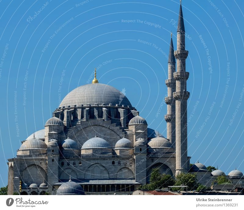 Minarets 2 Vacation & Travel Tourism Sightseeing City trip Istanbul Turkey Downtown Manmade structures Building Architecture Mosque Tower Tourist Attraction