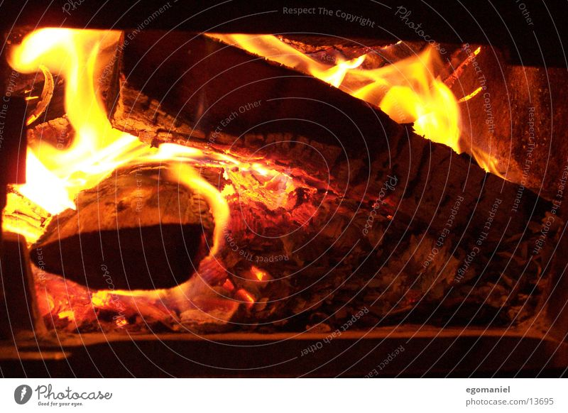 Fire in the oven Hot Light Physics Wood Burn Winter Embers Heat Obscure Blaze Flame Warmth Ashes Heater