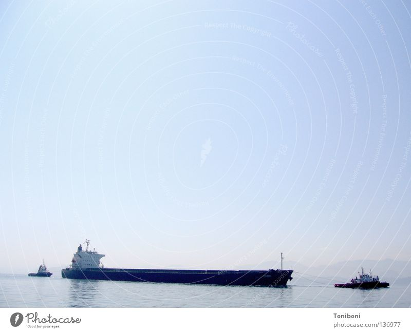 Sky Water Far-off places Freedom Watercraft Power Force Empty Industry Harbour Long Conduct Spain Navigation Oil Trade