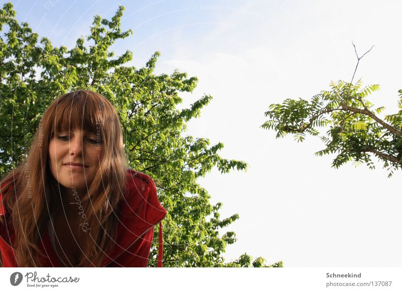 In_the_garden Woman Summer Lake Clouds Vacation & Travel Meadow Flat (apartment) Tree Cherry Vinegar Staghorn sumac Garden Park Hair and hairstyles