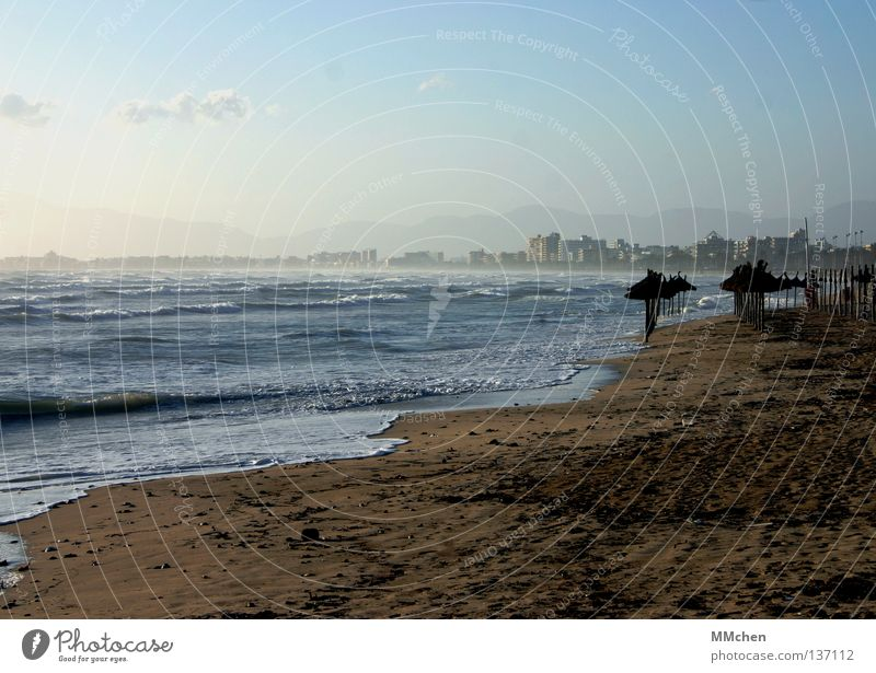 Water Sky Sun Ocean Beach Vacation & Travel Sand Waves Coast Dirty Horizon Earth Hotel Hat Sunshade Tourist
