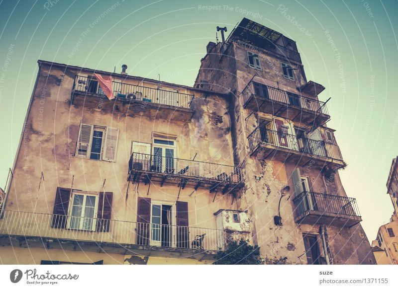 filler Vacation & Travel City trip Summer Summer vacation House (Residential Structure) Culture Town Building Architecture Facade Window Old Exceptional