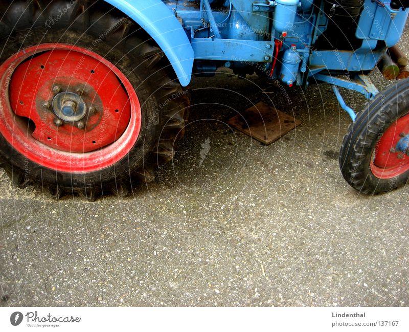 Blue Large Transport Asphalt Agriculture Machinery Tar Tractor
