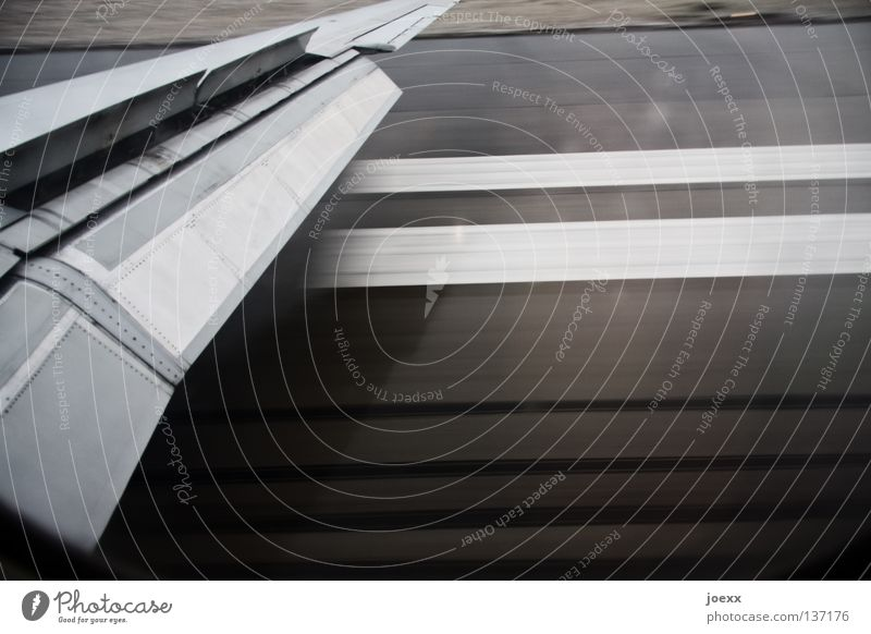 superimposed Departure Going Come Airplane Speed Gray Landing flap Home Covers (Construction) Beginning Stripe Wing Vacation & Travel Backward Aviation Fear