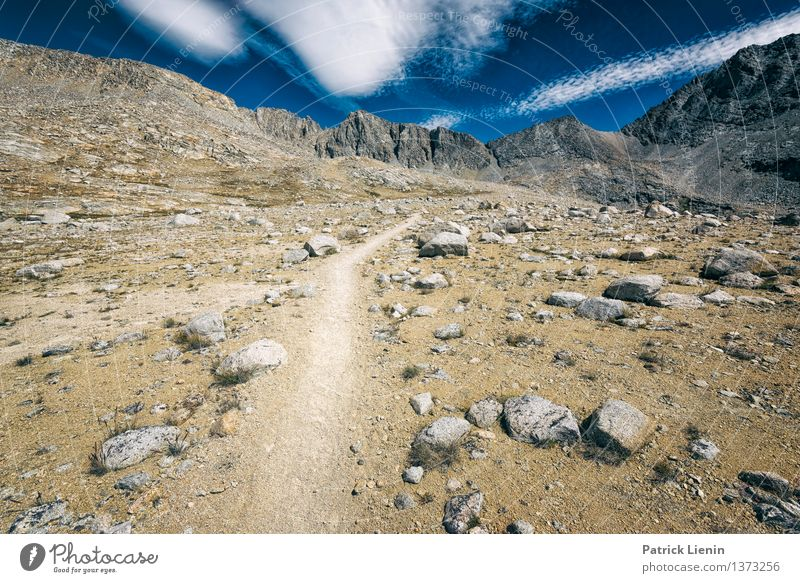 mountain highway Vacation & Travel Trip Adventure Far-off places Freedom Expedition Camping Hiking Environment Nature Landscape Sky Clouds Summer Climate