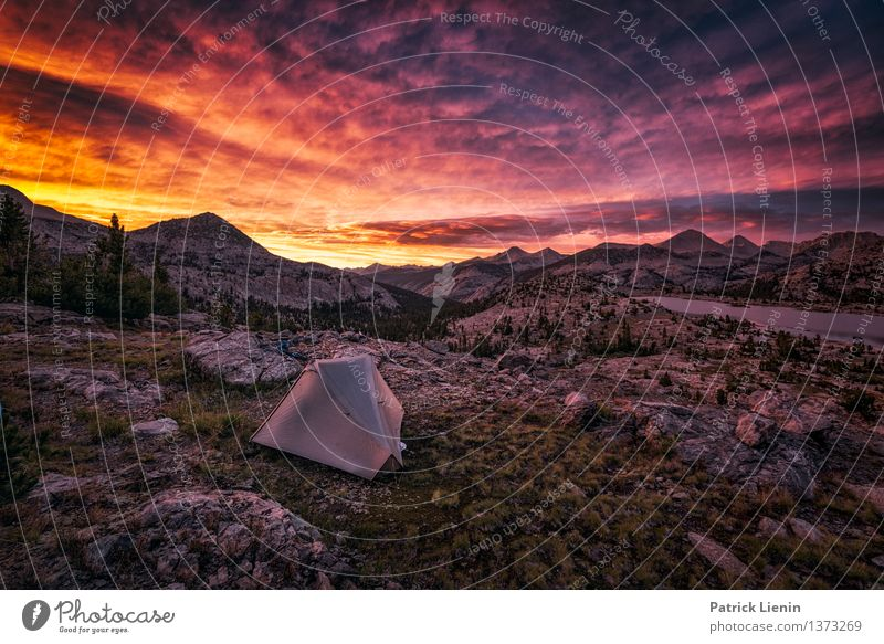 bivouac Harmonious Well-being Contentment Senses Relaxation Calm Meditation Vacation & Travel Adventure Far-off places Freedom Camping Hiking Environment Nature