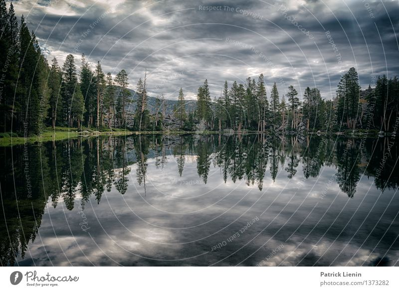 Mirror Lake Harmonious Well-being Vacation & Travel Trip Adventure Far-off places Freedom Expedition Camping Summer Mountain Hiking Environment Nature Landscape