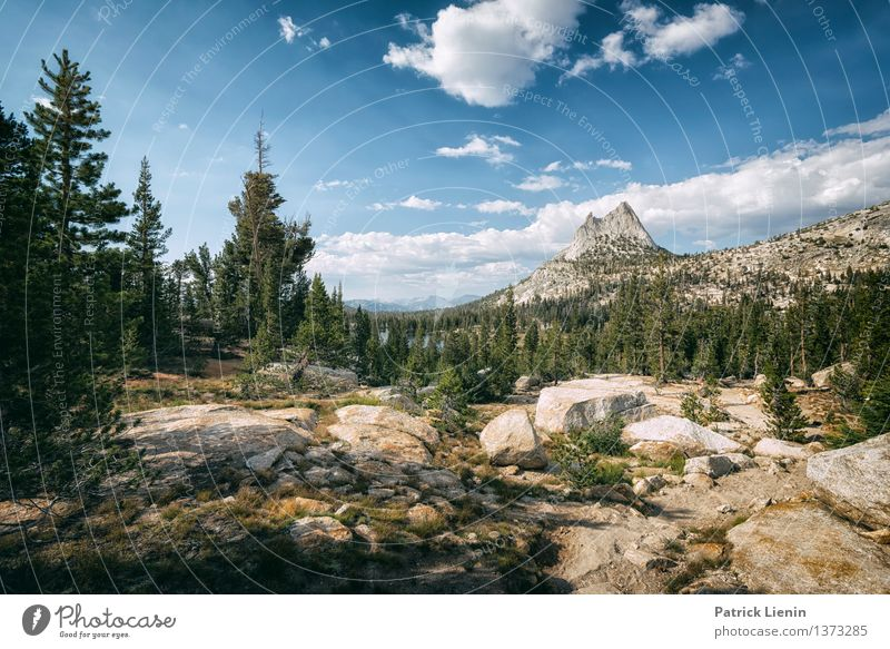 Cathedral Peak Relaxation Calm Vacation & Travel Camping Summer Environment Nature Landscape Elements Air Sky Clouds Sun Sunlight Climate Climate change Weather