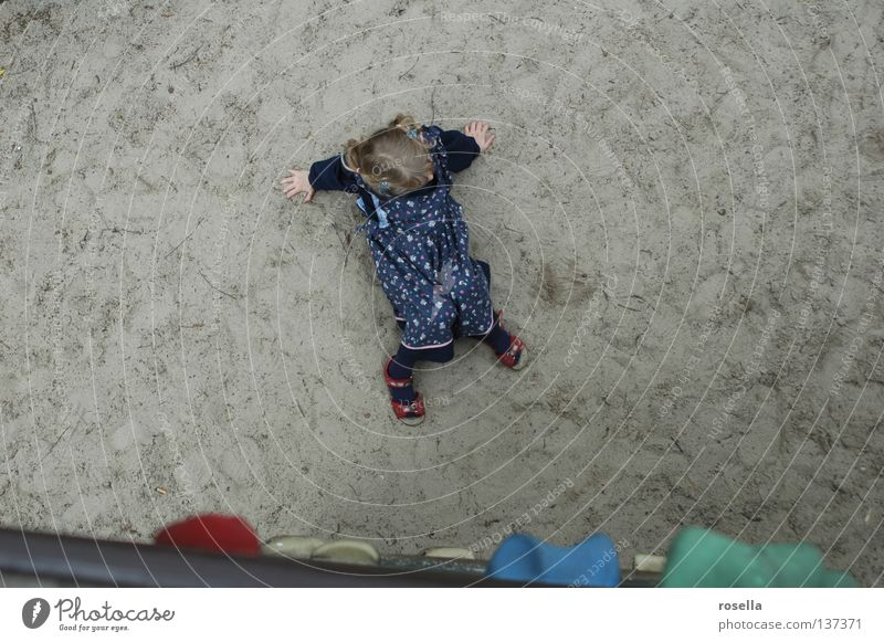 Child Playing Above Climbing Under Sudden fall Go up Playground Feeble Crash Helpless Descent Release