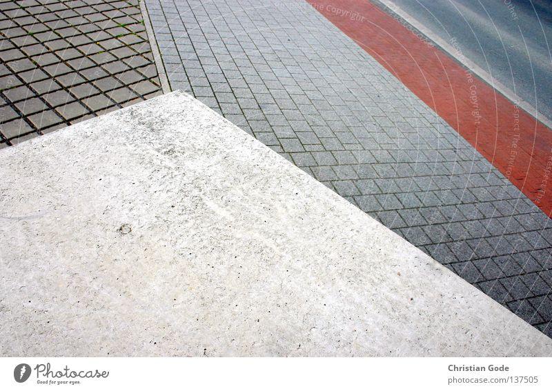 White City Red Black Street Wait Germany Going Walking Concrete Transport Railroad Bridge Driving Asphalt Square