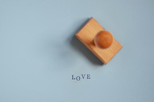 Blue Love Emotions Background picture Office Characters Joie de vivre (Vitality) Romance Sign Letters (alphabet) Infatuation Typography Valentine's Day