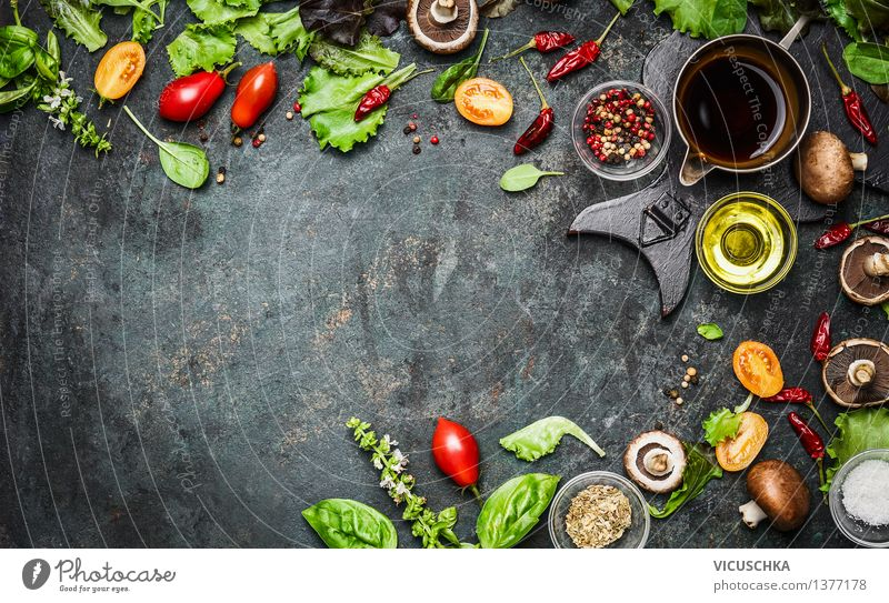 Healthy Eating Life Style Background picture Food Design Nutrition Table Things Herbs and spices Kitchen Vegetable Flag Organic produce Restaurant Plate