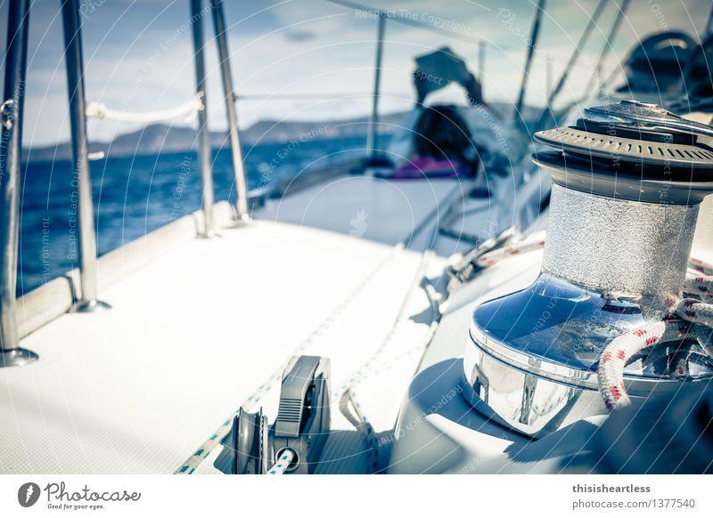 Sky Vacation & Travel Blue Water White Ocean Loneliness Landscape Calm Environment Coast Lie Dream Waves Island Adventure