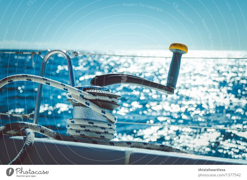 ...tight! Joy Leisure and hobbies Trip Adventure Far-off places Summer vacation Aquatics Sailing Elements Water Wind Waves Ocean Navigation Boating trip
